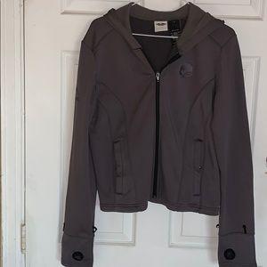 Gray Harley liner hoodie